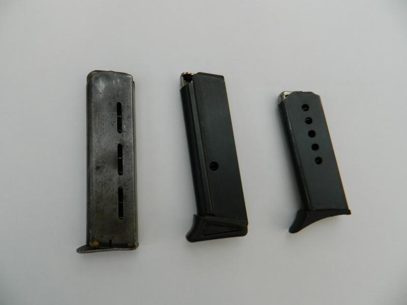 chargeurs de pistolet à identifier Charge10