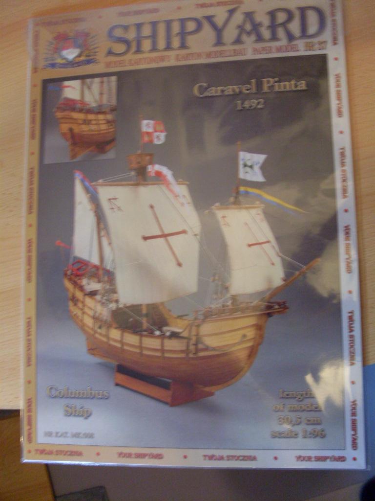 Karavelle Pinta 1:96 Shipyard Nr. 37  Sdc13460