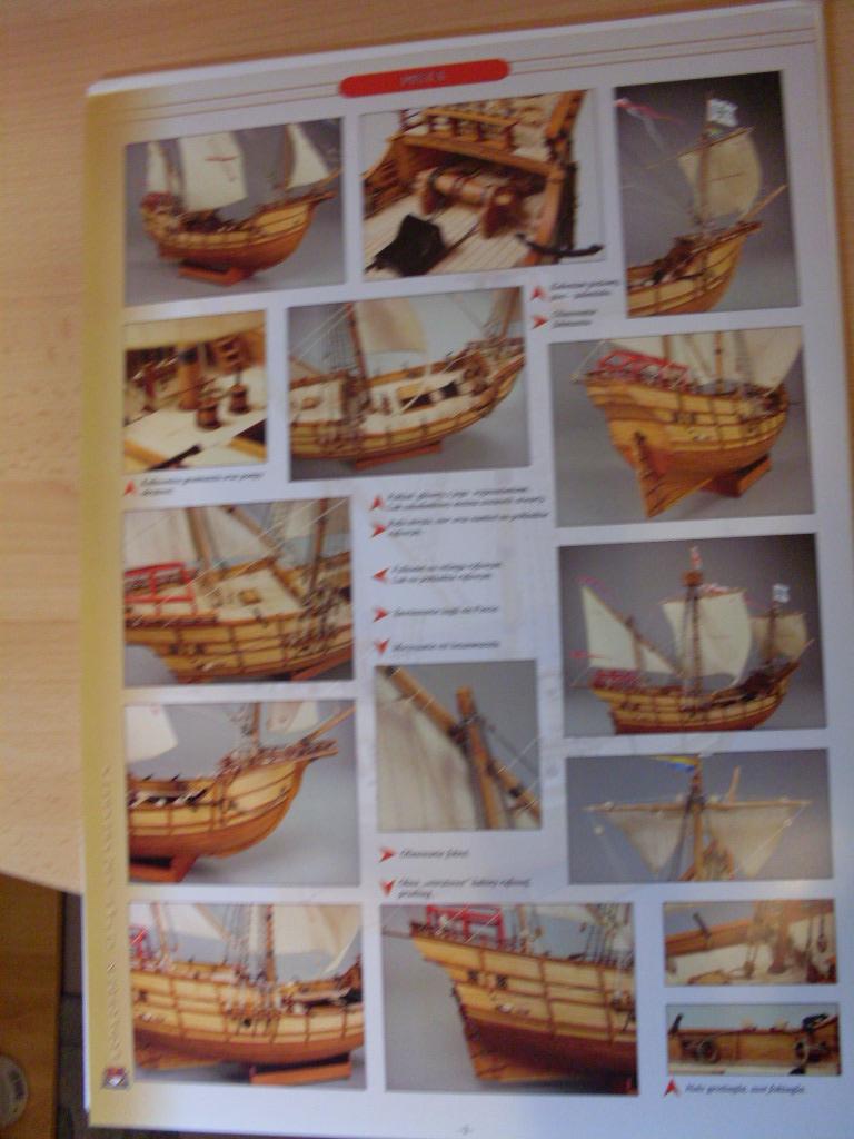 Karavelle Pinta 1:96 Shipyard Nr. 37  Sdc13461