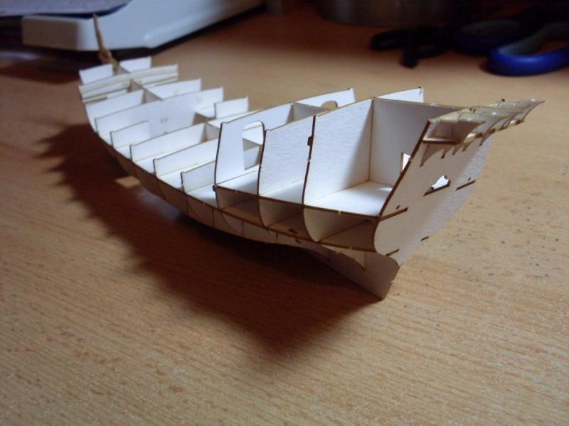 Karavelle Pinta 1:96 Shipyard Nr. 37  Sdc13529