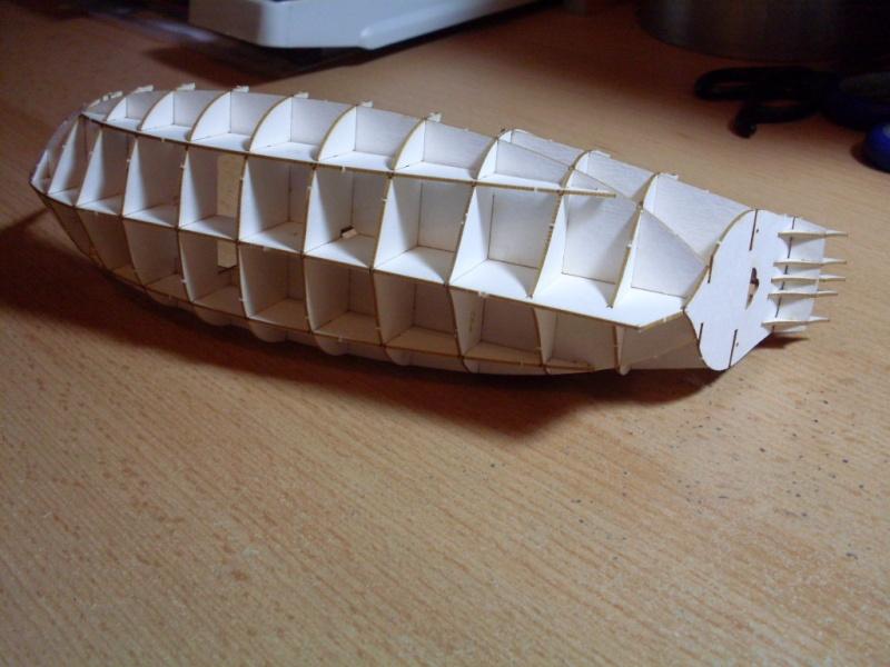 Karavelle Pinta 1:96 Shipyard Nr. 37  Sdc13530