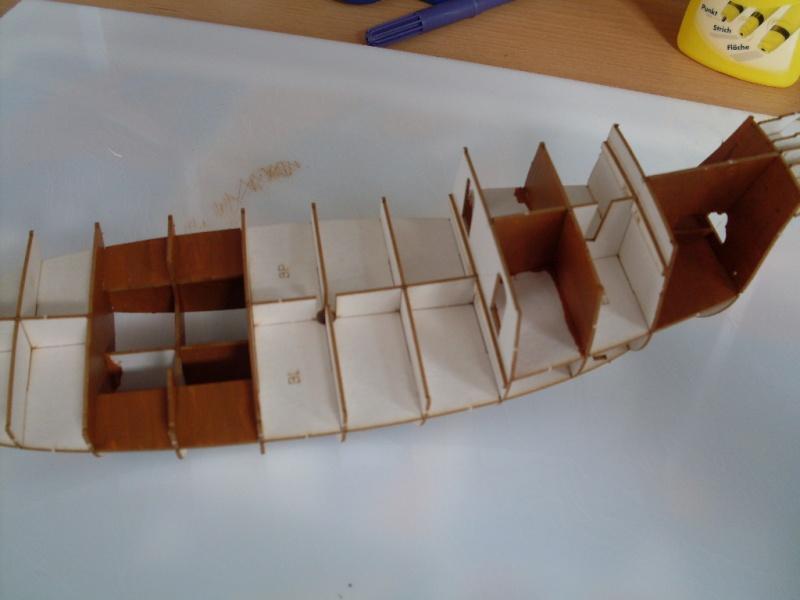 Karavelle Pinta 1:96 Shipyard Nr. 37  Sdc13531