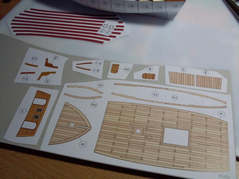 Karavelle Pinta 1:96 Shipyard Nr. 37  Sdc13538
