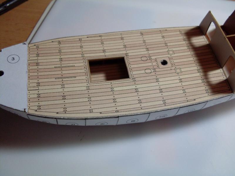 Karavelle Pinta 1:96 Shipyard Nr. 37  Sdc13539