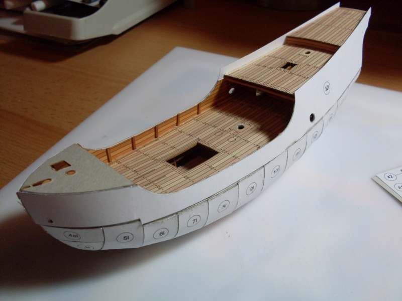 Karavelle Pinta 1:96 Shipyard Nr. 37  - Seite 2 Sdc13557