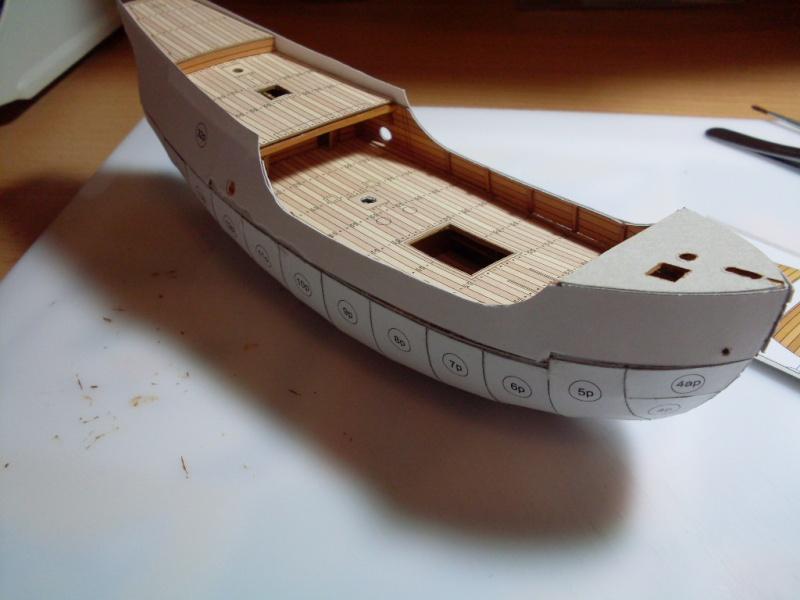 Karavelle Pinta 1:96 Shipyard Nr. 37  - Seite 2 Sdc13558