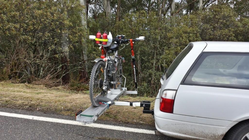 Tilt-A-Rack bike carrier - Hitch Mount System 20130842