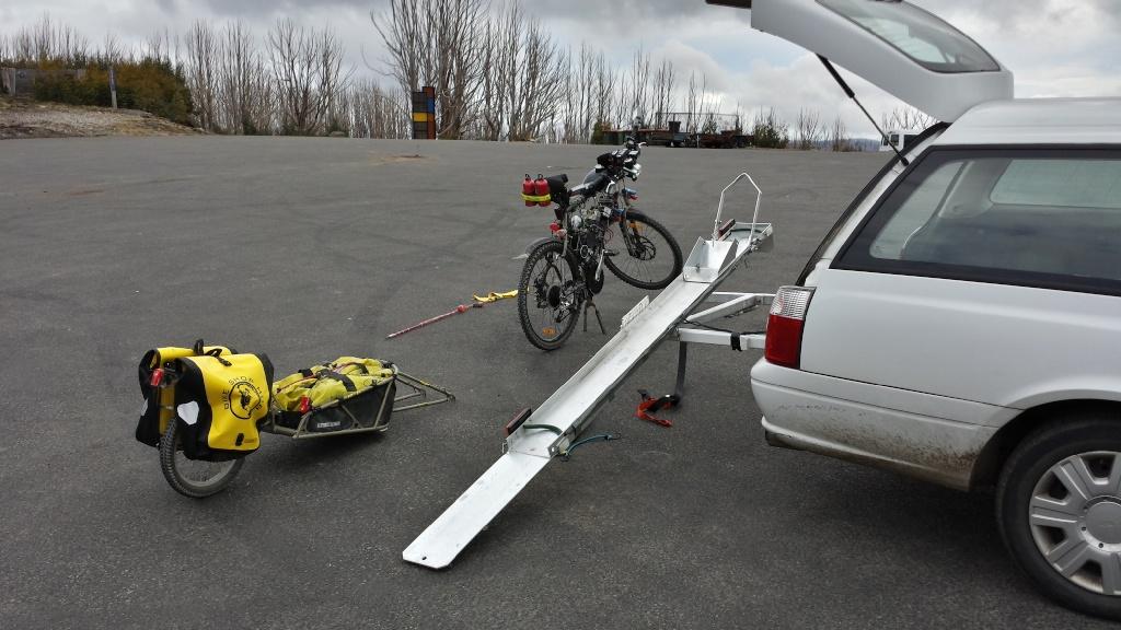 Tilt-A-Rack bike carrier - Hitch Mount System 20130844