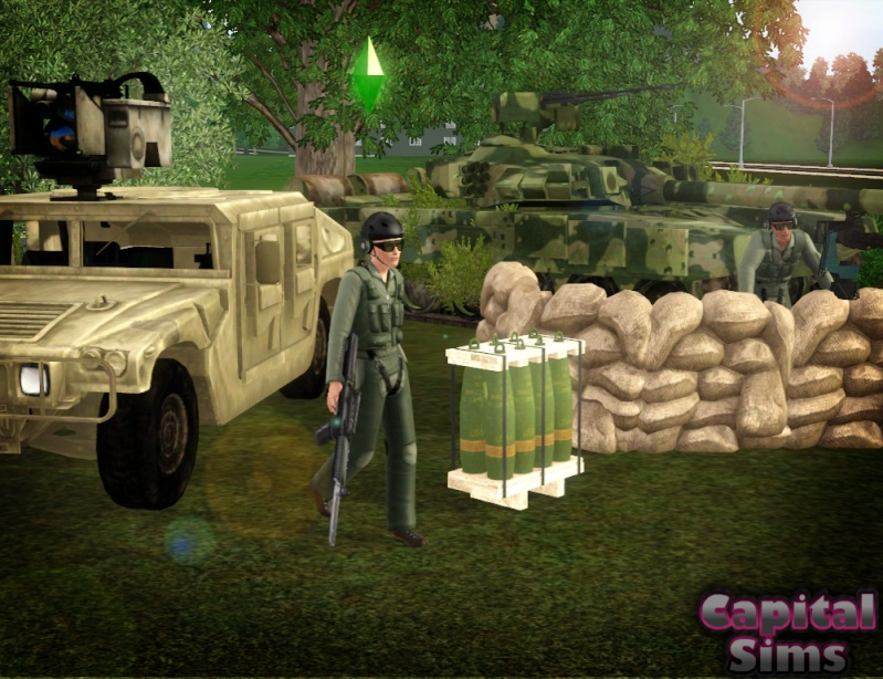'Doomsday' – Military Set (27 new meshes) by Anita Milita11