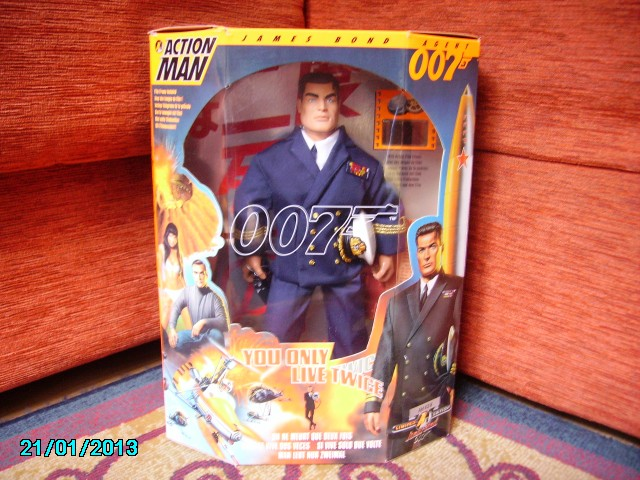 COLLEZIONE 007 Action Man Dr.Sep Imgp1711