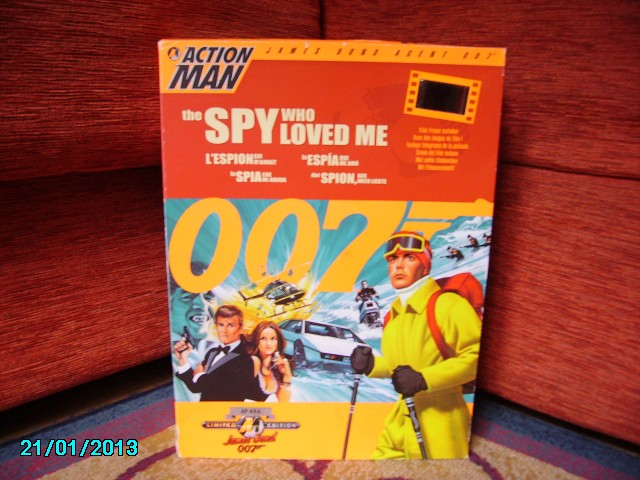 COLLEZIONE 007 Action Man Dr.Sep Imgp1713
