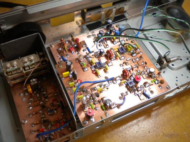 Perceuse pour PCB avec de la récup Rx10m10