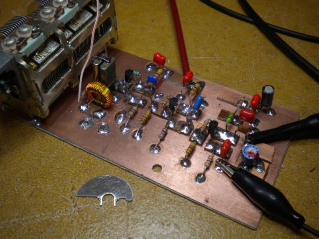 Perceuse pour PCB avec de la récup Vfo10