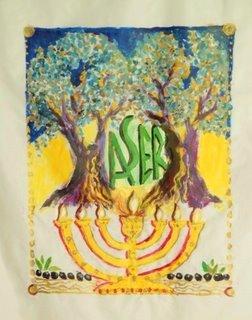 Art et foi : les douze tribus d'Israël Aser-110