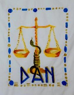 Art et foi : les douze tribus d'Israël Dan-110