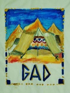 Art et foi : les douze tribus d'Israël Gad-110