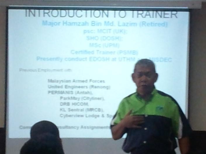 Lab Pemantapan Pelaksanaan Keselamatan dan Kesihatan Pekerjaan JPS Malaysia (sesi 2) 113