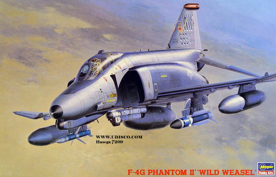 "F-4G Phantom II ""Wild Weasel"" (Hasegawa 1/48) [modèle terminé] 80720910"