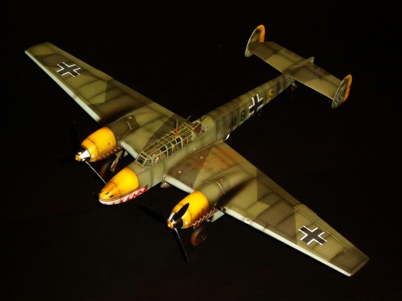 MESSERSCHMITT Bf 110D (EDUARD 1/48°) [Modèle terminé] P1040410