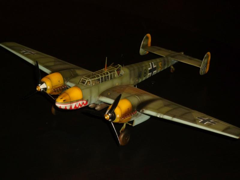 MESSERSCHMITT Bf 110D (EDUARD 1/48°) [Modèle terminé] P1040411