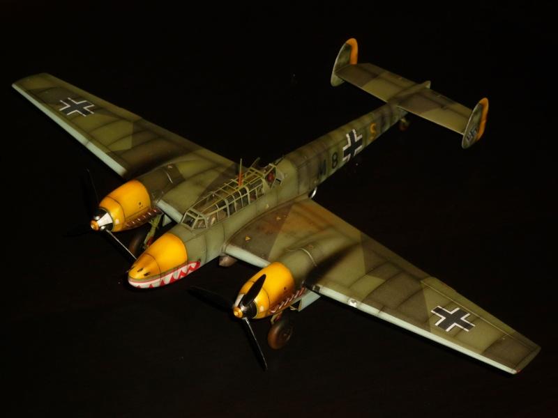 MESSERSCHMITT Bf 110D (EDUARD 1/48°) [Modèle terminé] P1040412