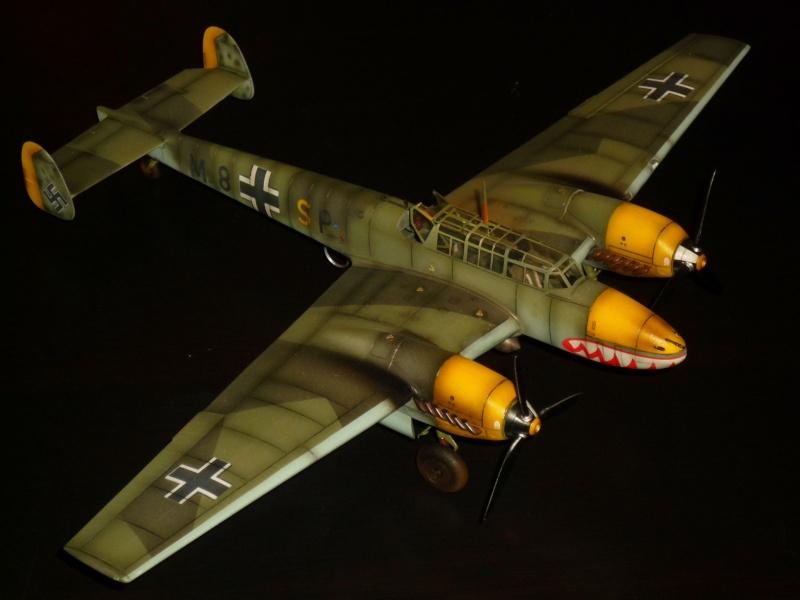 MESSERSCHMITT Bf 110D (EDUARD 1/48°) [Modèle terminé] P1040415