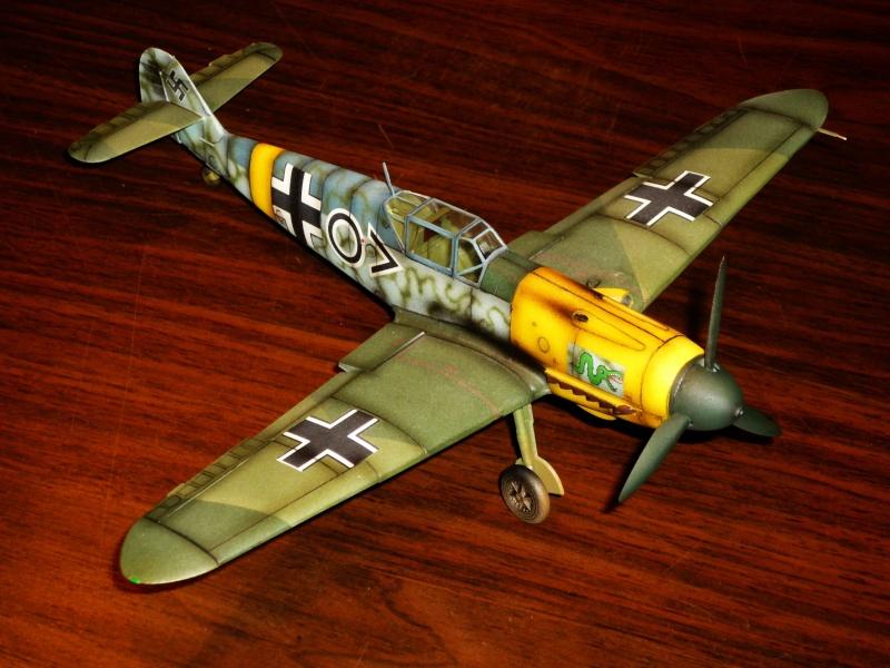 MESSERSCHMITT Bf109F-2 (ICM) [Modèle terminé] P1040721