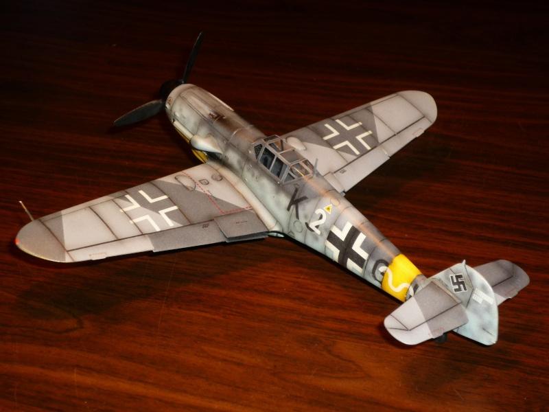 MESSERSCHMITT Bf109G-4 (HASEGAWA 1/48°) [Modèle terminé] P1040722