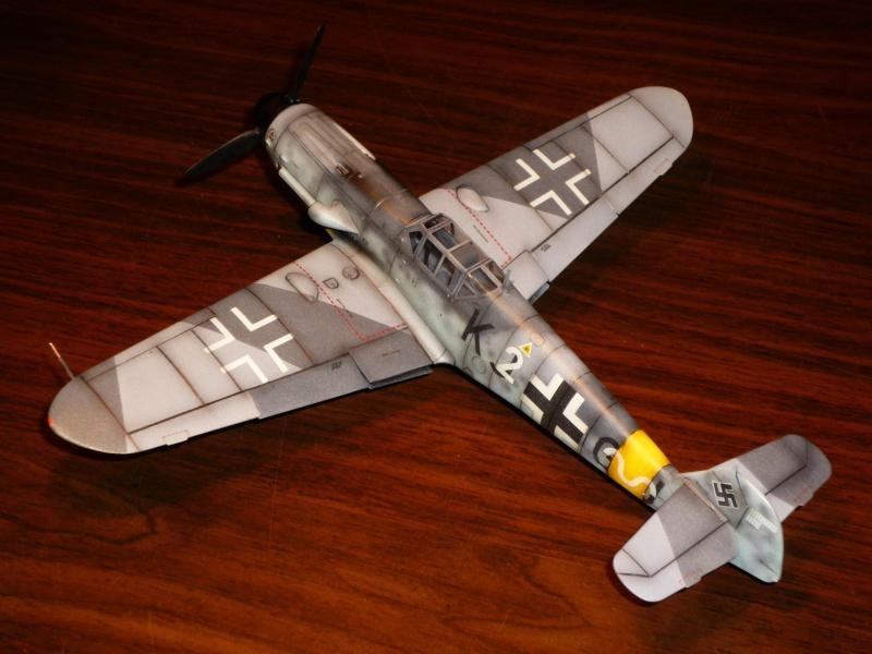 MESSERSCHMITT Bf109G-4 (HASEGAWA 1/48°) [Modèle terminé] P1040723