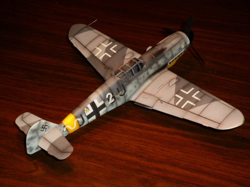 MESSERSCHMITT Bf109G-4 (HASEGAWA 1/48°) [Modèle terminé] P1040724