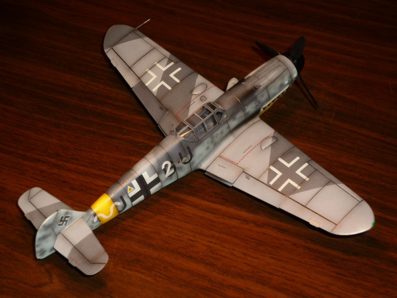 MESSERSCHMITT Bf109G-4 (HASEGAWA 1/48°) [Modèle terminé] P1040725