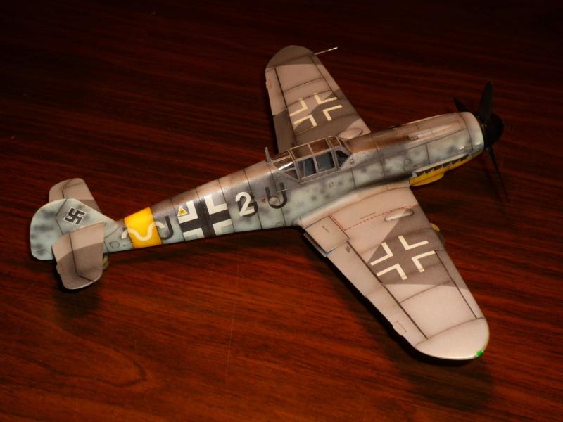MESSERSCHMITT Bf109G-4 (HASEGAWA 1/48°) [Modèle terminé] P1040726