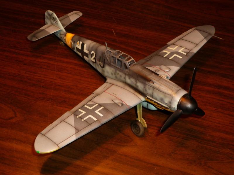 MESSERSCHMITT Bf109G-4 (HASEGAWA 1/48°) [Modèle terminé] P1040727