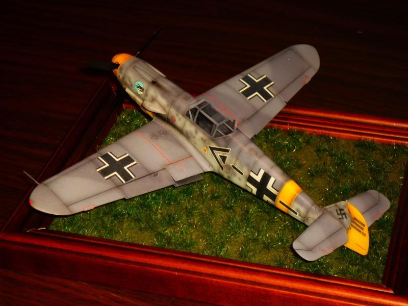 MESSERSCHMITT Bf109F-2 (HASEGAWA 1/48°) [Modèle terminé] P1040810