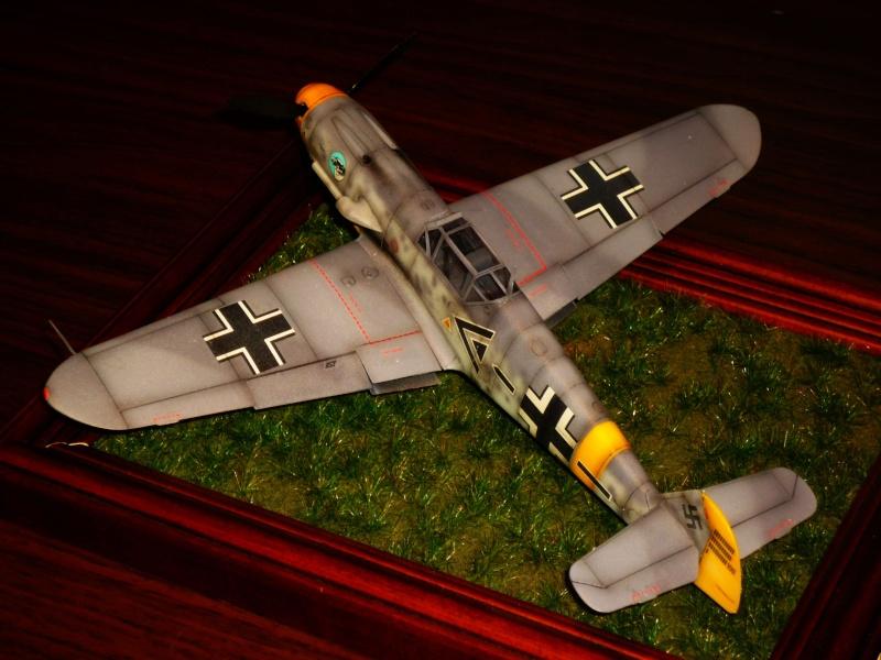 MESSERSCHMITT Bf109F-2 (HASEGAWA 1/48°) [Modèle terminé] P1040811