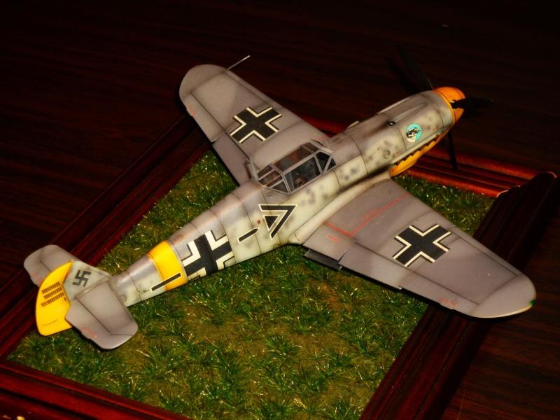 MESSERSCHMITT Bf109F-2 (HASEGAWA 1/48°) [Modèle terminé] P1040910