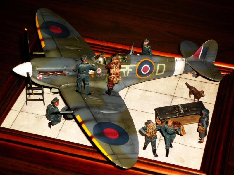 Supermarine Spitfire MkVb (Tamiya) [Modèle terminé] P1050510