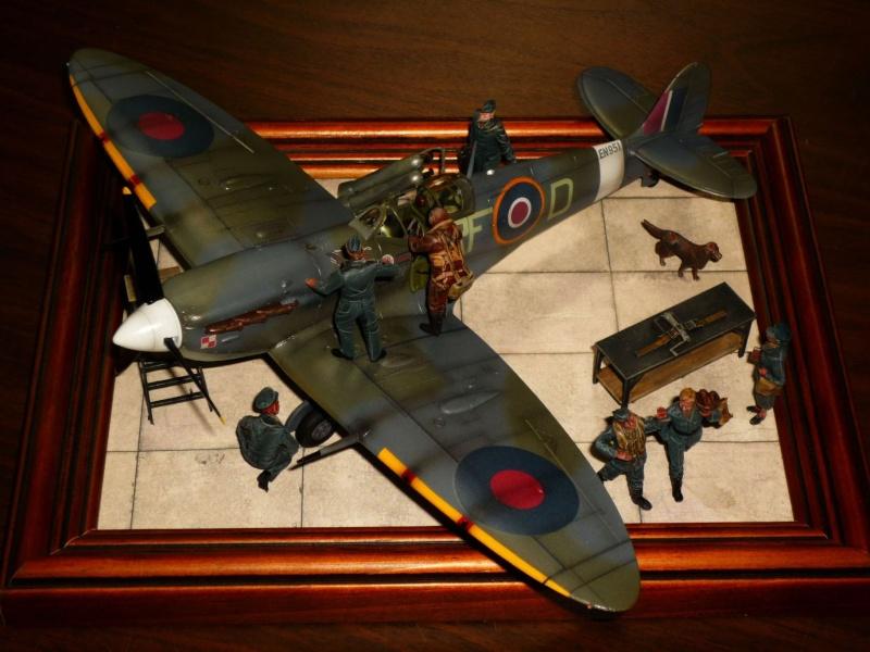 Supermarine Spitfire MkVb (Tamiya) [Modèle terminé] P1050511