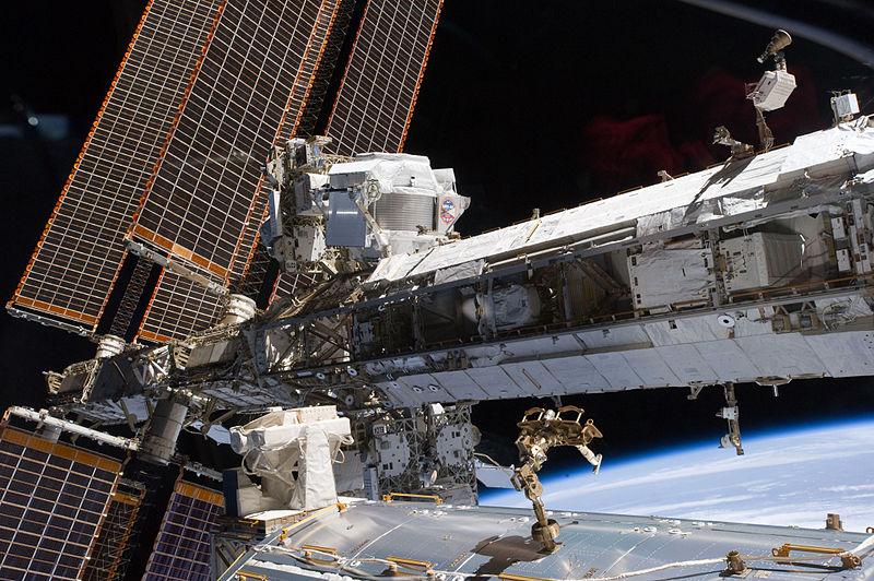 La traque de la mystérieuse matière noire pourrait bientôt aboutir (Expérience à bord de l'ISS) 800px-10