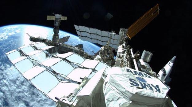 La traque de la mystérieuse matière noire pourrait bientôt aboutir (Expérience à bord de l'ISS) Captur11