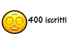 Wiki Info raggiunge i 400 iscritti 12jfo10