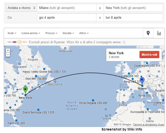 Cercare i prezzi più vantaggiosi viaggiare volando - Google Flights 2a61a210
