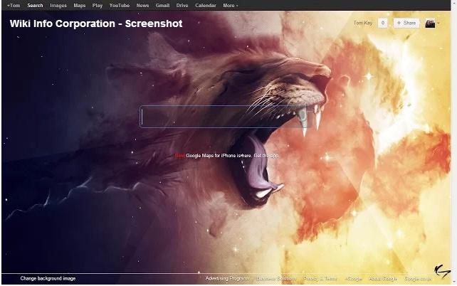 Personalizzare sfondo iniziale Google - Custome Google Background 2cz83r10