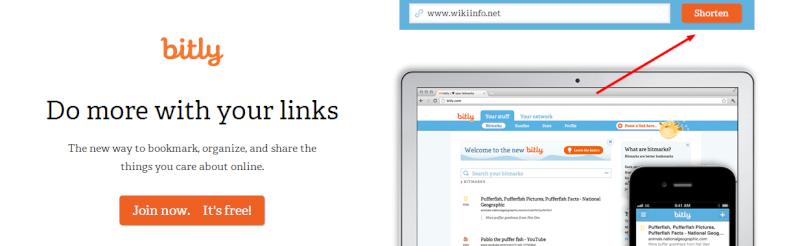 Come accorciare URL troppo lunghi - Bitly R01pp210