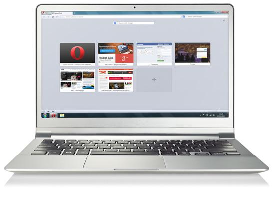 Un browser per tutti - Opera Window11
