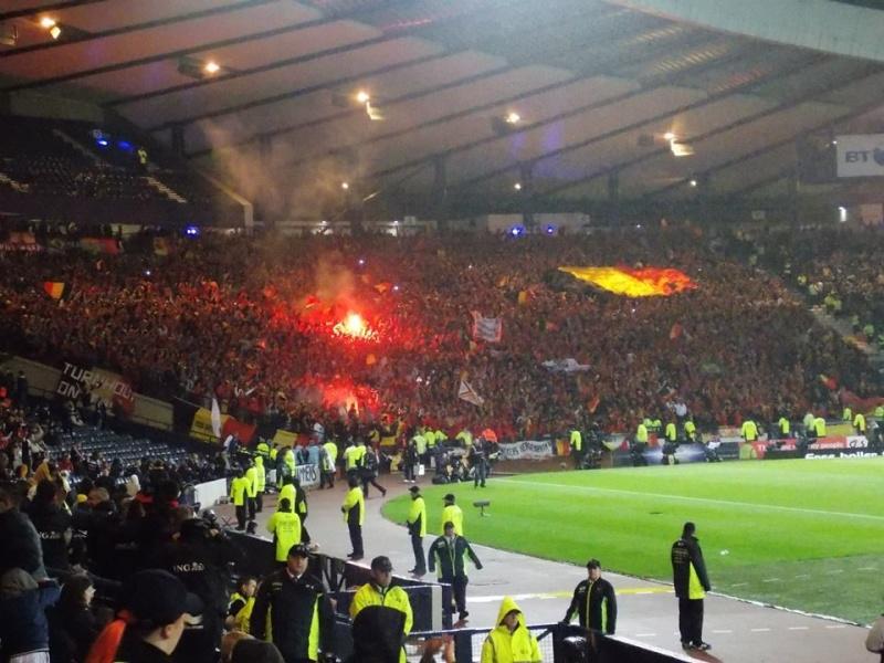 Le pavillon de notre marine était à Glasgow hier :-) 12368410