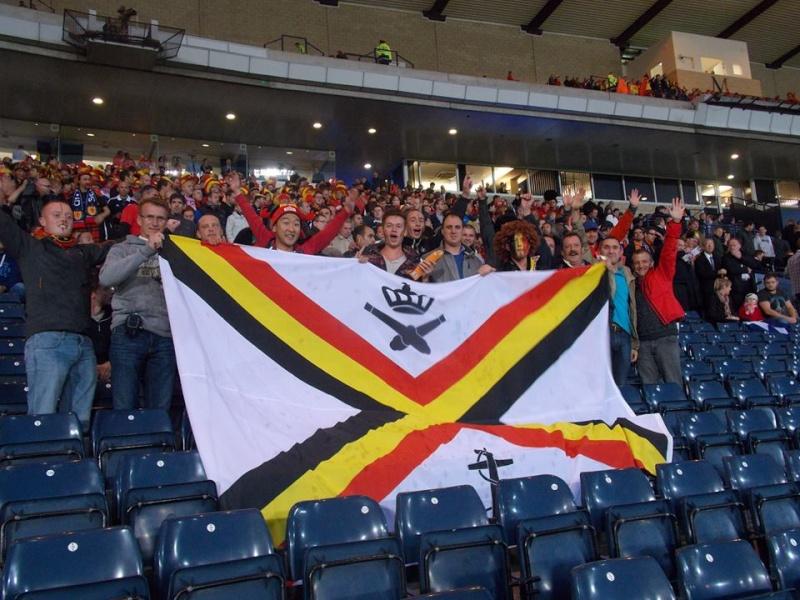 Le pavillon de notre marine était à Glasgow hier :-) 12387810