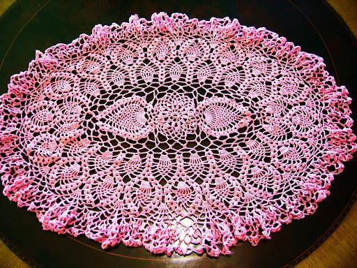 مفارش كروشي  Croche10