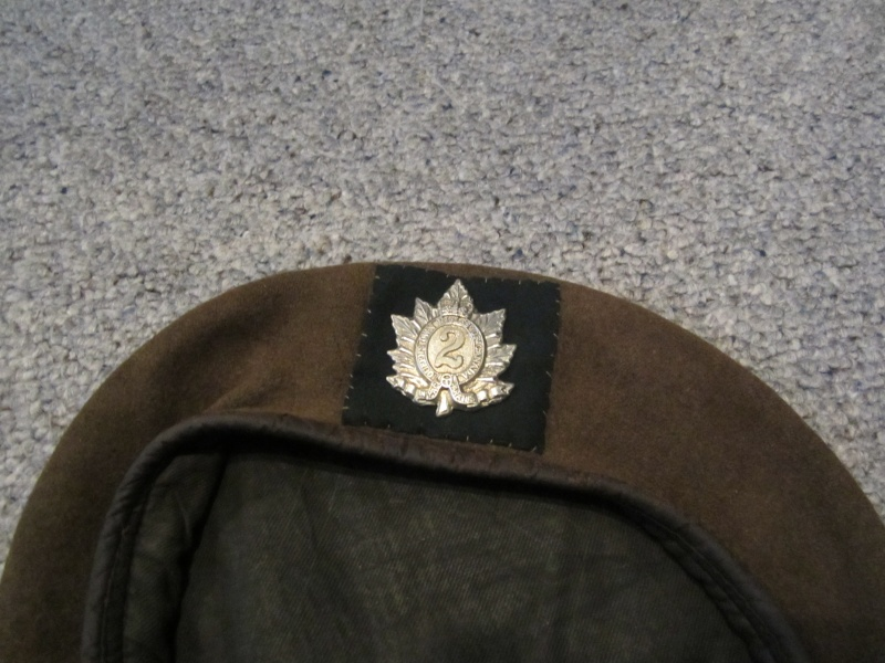 Queens Own Rifles Beret Img_0214