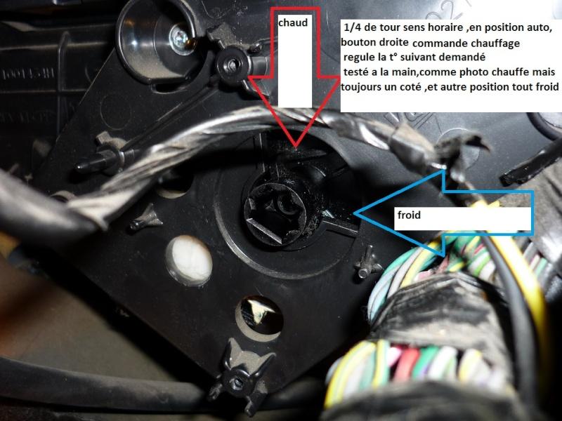 Chauffage intérieur aléatoire sur Dodge Nitro Clapet10